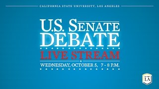 Many (LA) United States  city photo : U.S. Senate Debate at Cal State LA