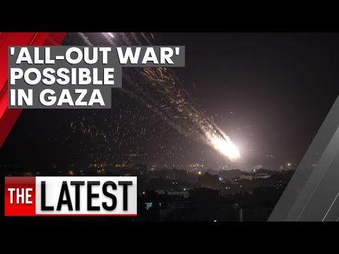 Fears of 'all-out war' as dozens killed, homes destroyed in Israel-Hamas conflict | 7NEWS
