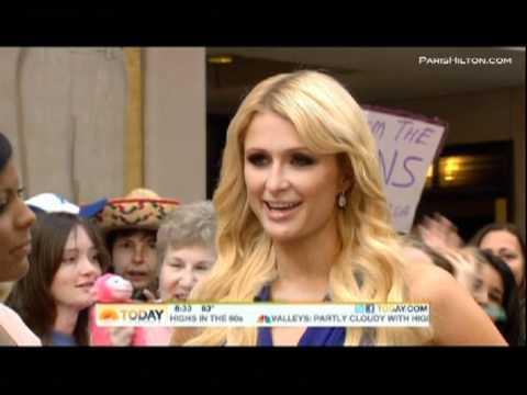 """Paris Hilton """"The Today Show"""" Part 2"""