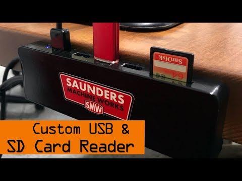 DIY: Desk Mounted USB & SD Card Reader! WW173 (видео)