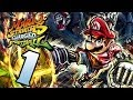 Let s Play Mario Strikers Charged Football Part 1: Stri