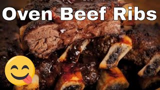 This video on how to make oven barbecues beef ribs has a lot of controversy because of the cooking times. Some people find that...
