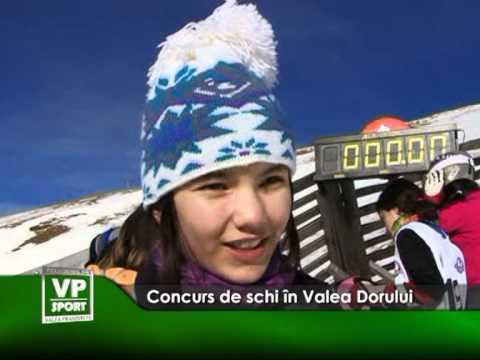 Concurs de schi în Valea Dorului