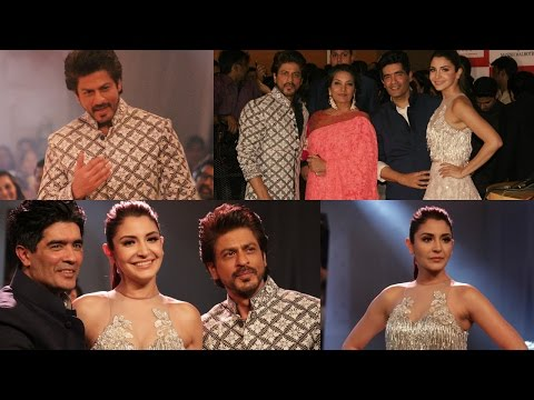 Shah Rukh Khan & Anushka Sharma Walks On Ramp At Mijwan Summer 2017