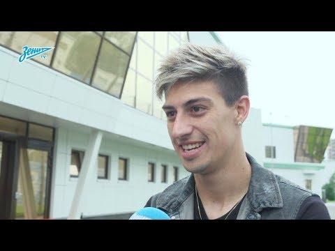 Первое интервью Эмилиано Ригони на «Зенит-ТВ» - DomaVideo.Ru