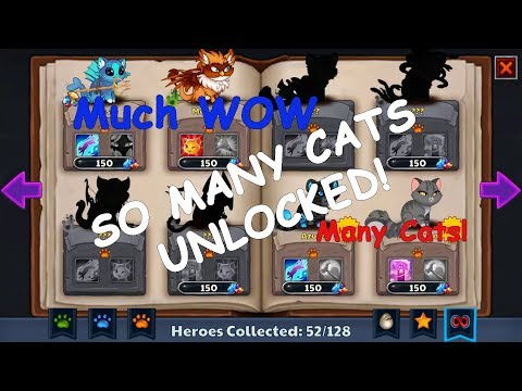 Castle Cats: Epic Story Quests Opening 40+ Cat Boxes
