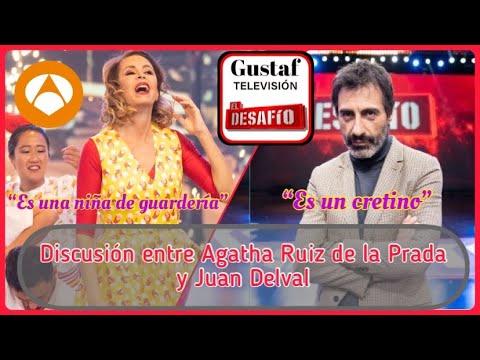 El DESAFÍO | Discusión de Ágatha Ruiz de la Prada y Juan Delval 🔥 tenemos las imágenes 🚨 видео