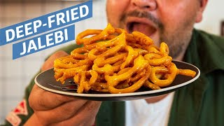 Cliff Attempts to Make Fried Jalebi — You Can Do This! by Eater