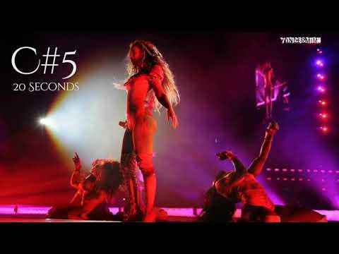 Beyoncé Longhest Note EVER (20 & 18 Seconds)