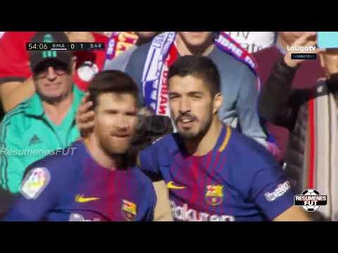Real Madrid vs Barcelona 0 3 Resumen Highlights Goles Goals La Liga 23 12 2017 1