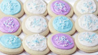The Softest Frosted Sugar Cookies Ever by Tasty