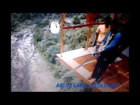 ADVENTURE SPORTS IN THE HIMALAYAS~ FREE FALL, GIANT SWING, FLYING FOX-ARIJIT SAHU
