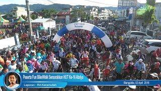Ribuan Peserta Fun Bike/Walk Semarakkan HUT Ke-16 Abdya