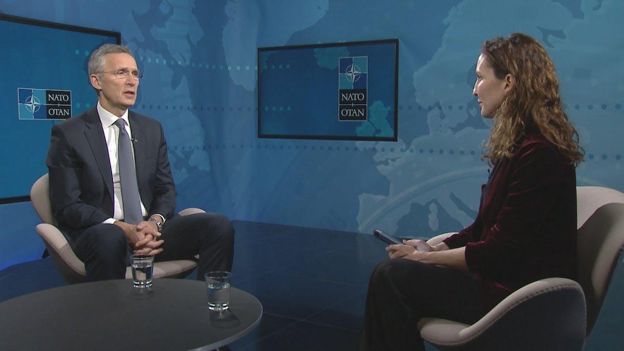 Συνέντευξη του γ.γ. του ΝΑΤΟ Γ. Στόντενμπεργκ στο ΑΠΕ-ΜΠΕ και την Μ. Αρώνη