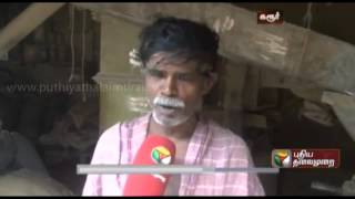 Production of puffed rice in full swing in Karur in view of upcoming festivals