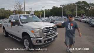 Autoline's 2011 Ford Super Duty F-250 SRW Super Duty Walk Around Review Test Drive