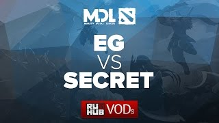 Secret vs Evil Geniuses, game 1