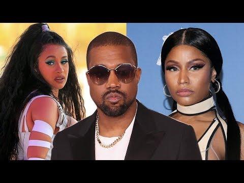 Kanye West STEPS IN To END Cardi B & Nicki Minaj Feud!