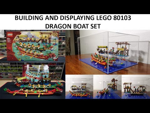 Building and Displaying Lego 80103 Dragon Boat Set