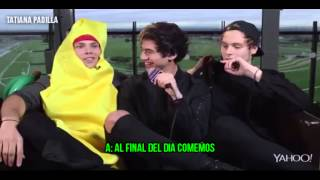 5SOS Chat Naked Pics, Taylor Swift, And.. Erm...David Cameron! (sub español)