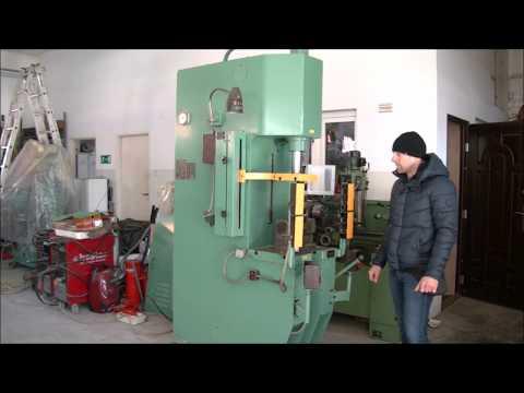 Prasa hydrauliczna wysięgowa METALLIST P6320B 1985