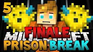 """""""The Mystic Sareye Pufferfish!"""" Minecraft Prison Break FINALE (Minecraft Jail Break) Episode 4!"""