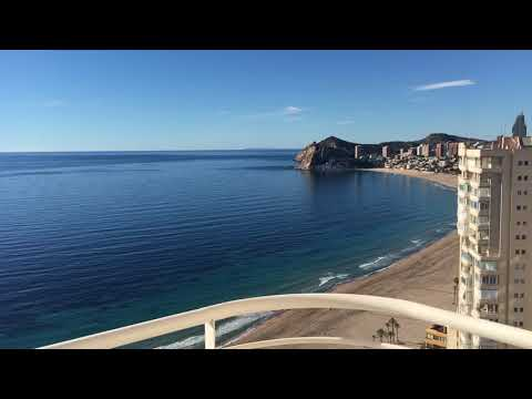 Rentals in Benidorm! Seafront apartments at Poniente beach, Benidorm. Panoramic sea view!