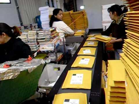 Internet Mail Order Small Parcel Sorter System