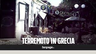 È stata una notte di paura in Grecia - all'isola di Kos - con turisti riversati sulle strade, edifici storici danneggiati (come una fortezza e un'antica moschea), due turisti morti e almeno 200 feriti. Sospeso il servizio di trasporto marittimo, attivato l'esercito greco. Intanto è divampato un incendio e si è verificato un mini tsunami a Bodrum con le strade allagate.http://youmedia.fanpage.it/video/aa/WXHv9OSwyky_S_m9