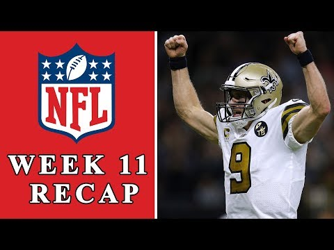 Video: NFL Week 11 Recap: Time to take Drew Brees, Saints seriously | NFL | NBC Sports