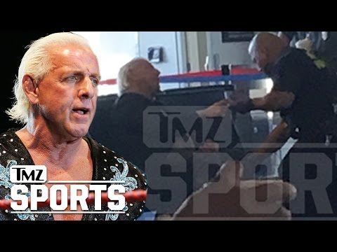 Ric Flair Caused A Major Scene At An Airport