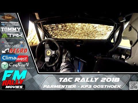 TAC rally 2018 | ONBOARD | Parmentier - KP3 Oosthoek [HD]