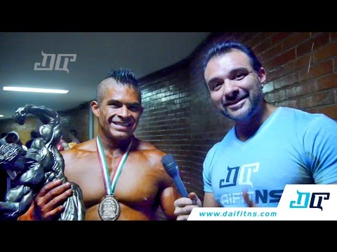 Entrevista Ruben Estrada clasificados 75 kg selectivo Nacional 2015