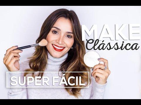 Maquiagem Clássica e SUPER FÁCIL! Usando os produtos da ABBEY!