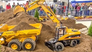 Video BIG RC excavator ACTION in 1/8 scale! Caterpillar! Atlas! Liebherr! MP3, 3GP, MP4, WEBM, AVI, FLV Juni 2018