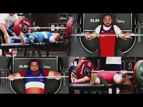 Top 4 Lifters | 2018 Berck-sur-Mer | World Para Powerlifting