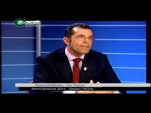 Penne: il sindaco D'Alfonso nel mirino della satira