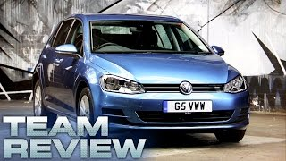 7th Generation Volkswagen Golf (Team Review) - Fifth Gear by Fifth Gear