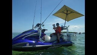 10. HOW TO setup rig YAMAHA VX WaveRunner for fishing