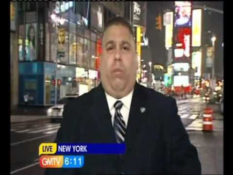 Security USA Clark Pena on London's Good Morning America (GMTV).