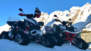 2. Can-am RENEGADE 850 & Polaris SCRAMBLER 1000 - WINTER 2017/2018