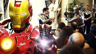 Epic Wedding Ceremony Battle (Batman, Iron Man & More)