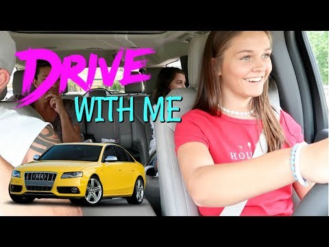 EMMA GETS HER DRIVING PERMIT! FIRST TIME DRIVE WITH ME! EMMA AND ELLIE