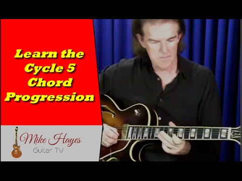 Chords On Guitar – How To Teach yourself Chord Progressions On Guitar The Cycle 5 Progression part 2
