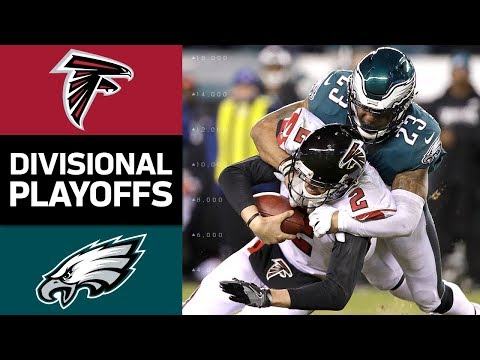 Falcons vs. Eagles | NFL Divisional Round Game Highlights (видео)