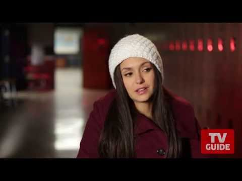 The Vampire Diaries' Ian Somerhalder and Nina Dobrev on Damon and Elena's future -- On the Set