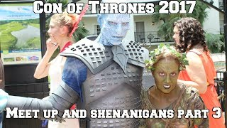 Hey everyone it's Azor Ahype here with another entry into the Con of Thrones 2017 Vlog  and this is me and George's Meetups and Shenanigans Part 2 where we meet the fans, talk about Game of Thrones Season 7 News, Con of Thrones 2017 and Azor Ahype. Make sure you Subscribed to the Channel to Stay upto date for all of my upcoming Game of Thrones Season 7 Content!🐓 Subscribe 🐓 https://www.youtube.com/channel/UCx4RG-jgoRAtywgnyv8WtWgSubscribe to George AKA George Sartiano - https://www.youtube.com/channel/UCxusT3XjVdLFh-dk-H2Z_aQ 😍 Support My Channel 😍● Patreon : https://www.patreon.com/AzorAhype😎 Follow Me on Social Media 😎● Facebook : https://www.facebook.com/AzorAhype● Twitter : https://twitter.com/AzorAhype● Instagram: https://www.instagram.com/AzorAhype/😘 A HUGE Fookin' Thank you to my Patrons! 😘❤  Rosa!❤  Maureen and Miller!❤  Skoalar the Mad!❤  Melissa, Cypher, Marilyn, Ser Tomas, Karri and Sam!❤  Chandler, Seth, Rob, Zane, Jes, Marie, Einat,James, Alexis, Carrie and Jenn!🍗Check Out These Videos 🍗►The Death of Sandor Clegane : https://www.youtube.com/watch?v=KniMWdtG9sU► The Death of Daenerys : https://www.youtube.com/watch?v=rdsCqSCQD3k&t=23s► Season 7 Trailer Breakdown :https://www.youtube.com/watch?v=cucIUXujKNA&t=3s✊Partners, Friends & Awesome Channels✊★ Artwork done by Blaze Manga : https://www.youtube.com/user/OfficialBlazeManga★ Secrets of the Citadel : https://www.youtube.com/channel/UCqROIhneltpZKvFzuB3pAiAGeorge Sartiano - https://www.youtube.com/channel/UCxusT3XjVdLFh-dk-H2Z_aQMusic in this VideoMusic by Draoxx Oysters, Clams, and Cockles (Draoxx Trap Remix)  Free HQ Download - https://www.youtube.com/watch?v=xsJhXez42KoDOCTOR VOX - Frontier by THOMAS VX https://soundcloud.com/thomas-vxCreative Commons — Attribution 3.0 Unported— CC BY 3.0 http://creativecommons.org/licenses/b...Rock Angel by Joakim Karud https://soundcloud.com/joakimkarudCreative Commons — Attribution-ShareAlike 3.0 Unported— CC BY-SA 3.0 http://creativecommons.org/licenses/b...Music 