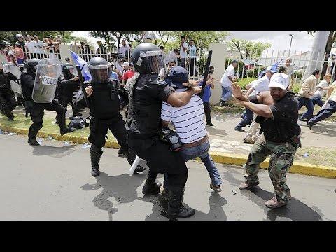 Νικαράγουα: Συγκρούσεις διαδηλωτών με την αστυνομία