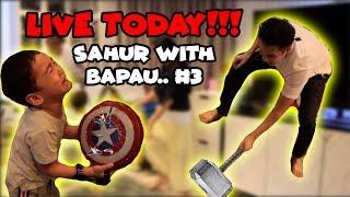 Video BAIM PECAHIN TAMENG CAPTAIN AMERICA RAFATHAR !! SAHUR WITH BAPAU #3 MP3, 3GP, MP4, WEBM, AVI, FLV Mei 2019
