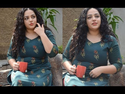 Nithya Menen Show Hot Figure